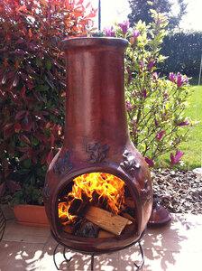 Vente En Ligne De Brasero Mexicain Chemine Barbecue