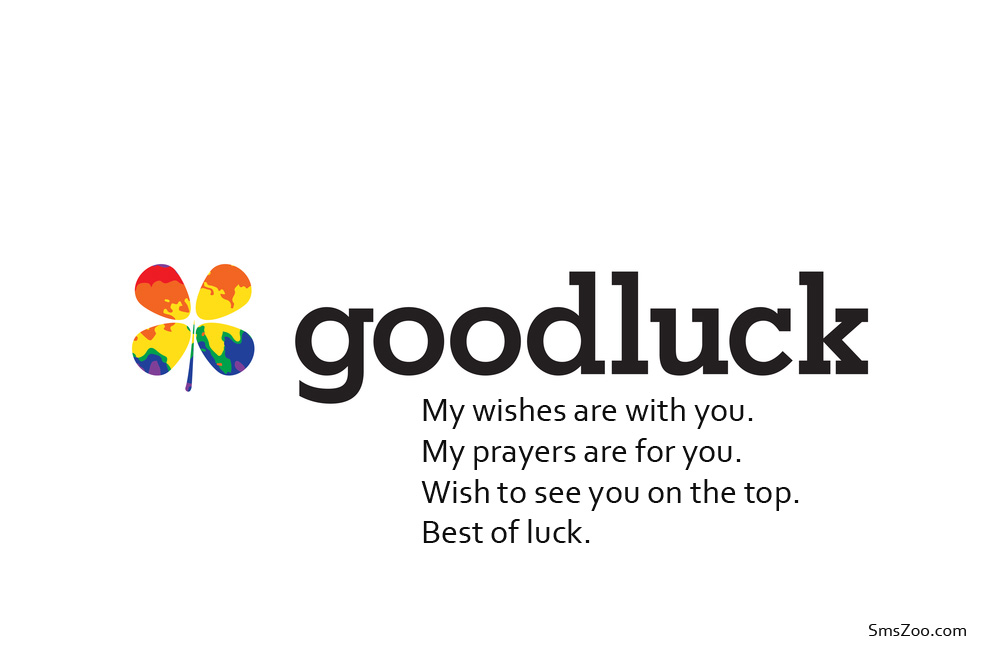 Good luck Poems