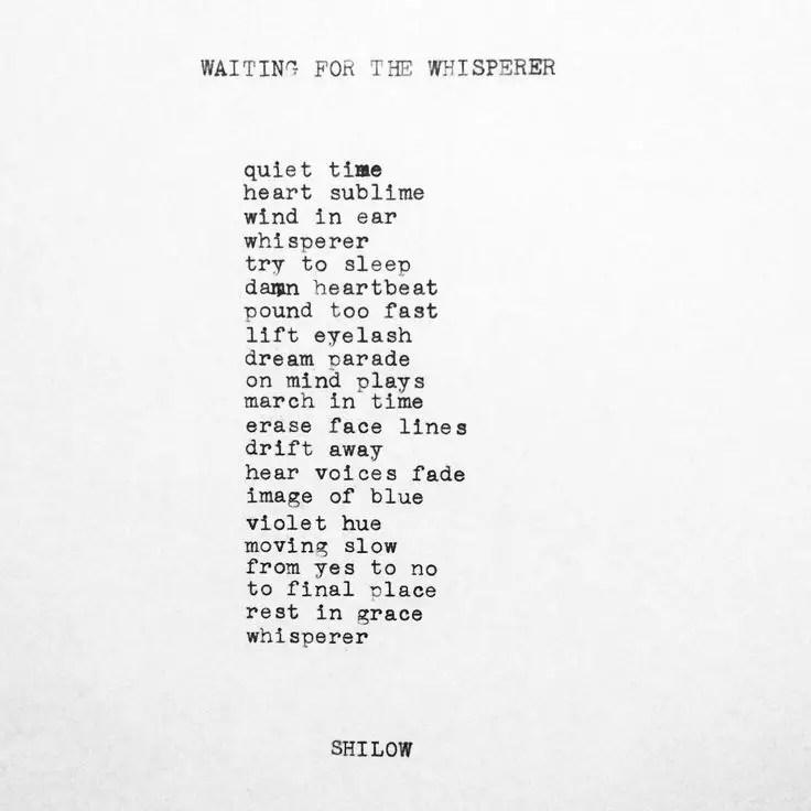 Short prayer Poems