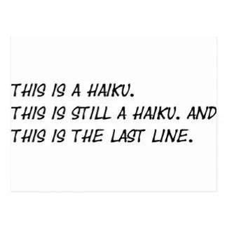 Funny haiku Poems