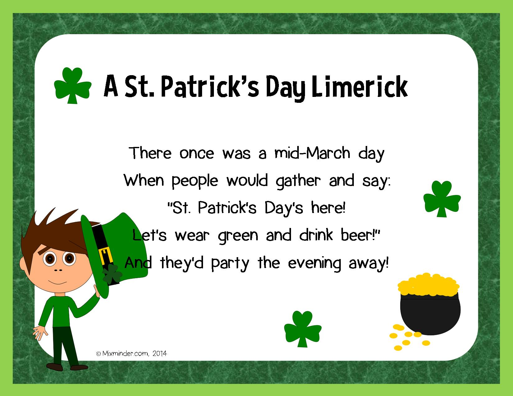 St Patrick S Day Poems