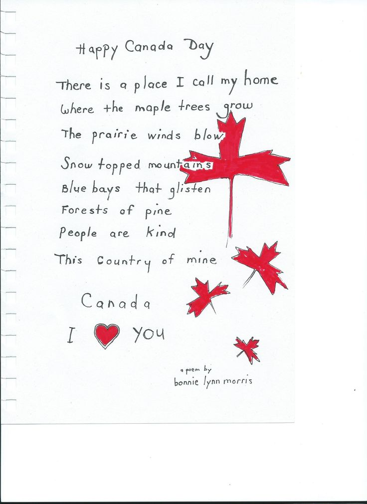 Canada Poems