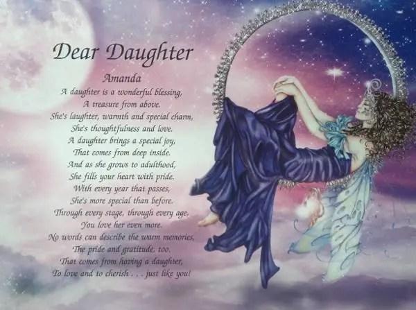 Happy Birthday Daughter Poems