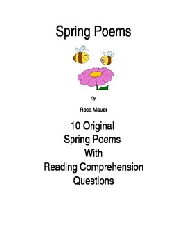Funny spring Poems