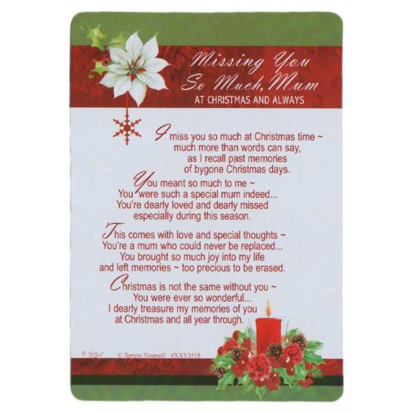 poem about missing your mom at christmas creativepoem co