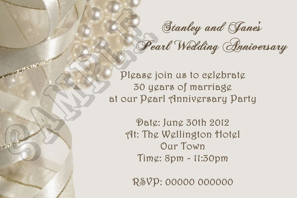 pearl wedding anniversary gifts