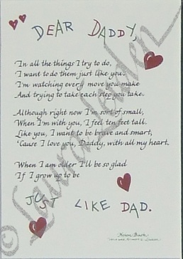 Daddy to be Poems