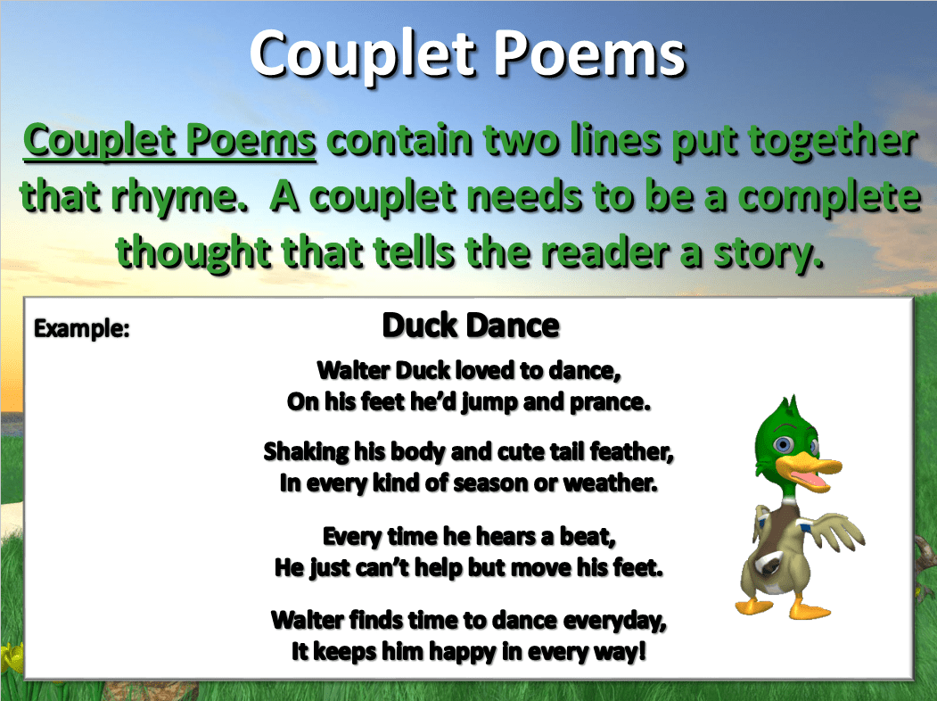 Couplet Poems