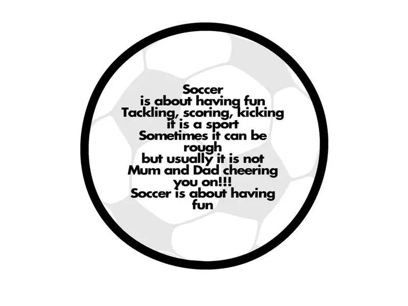 Funny soccer Poems