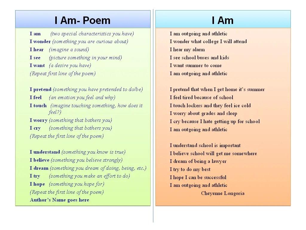 Sixth Grade Poems