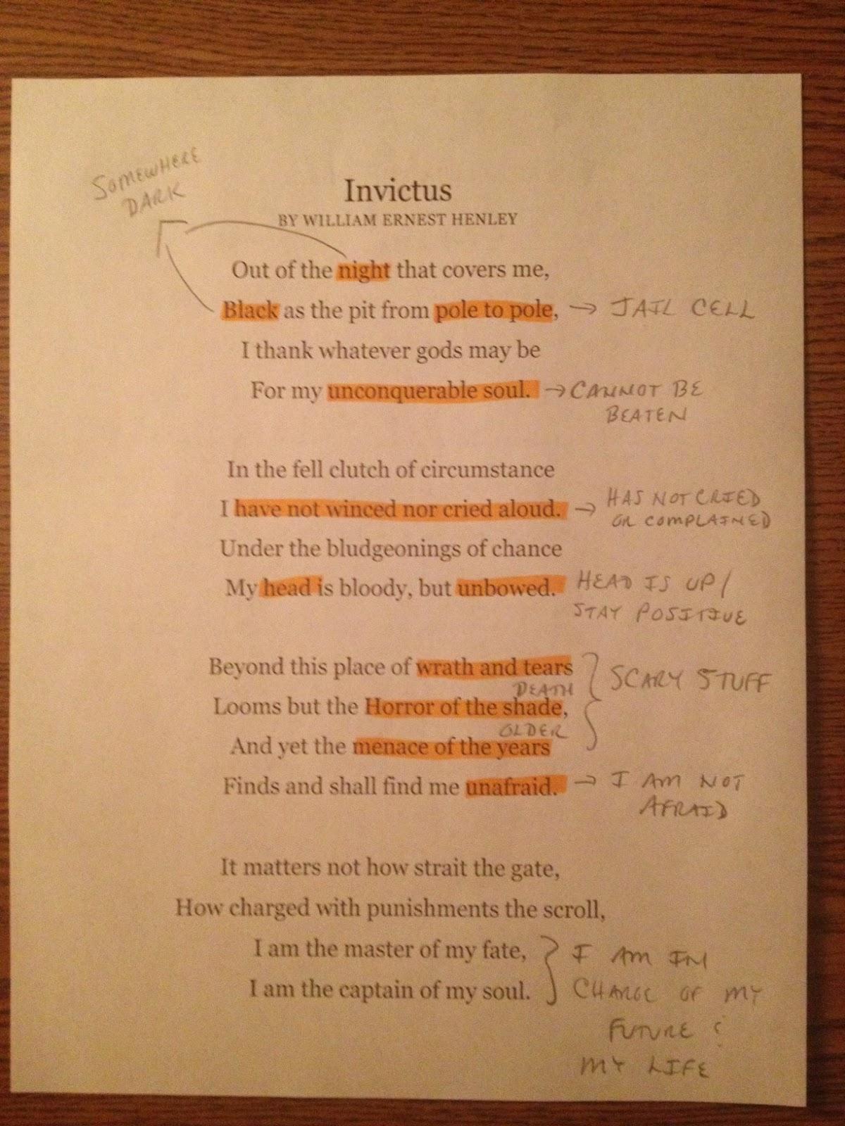 Invictus Poems