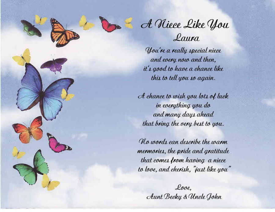 Niece Poems