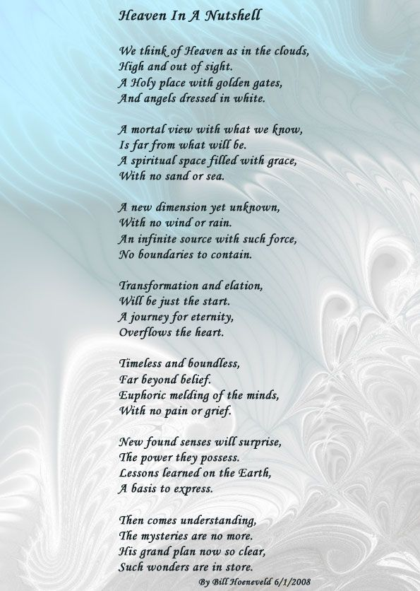 Grandma In Heaven Poems
