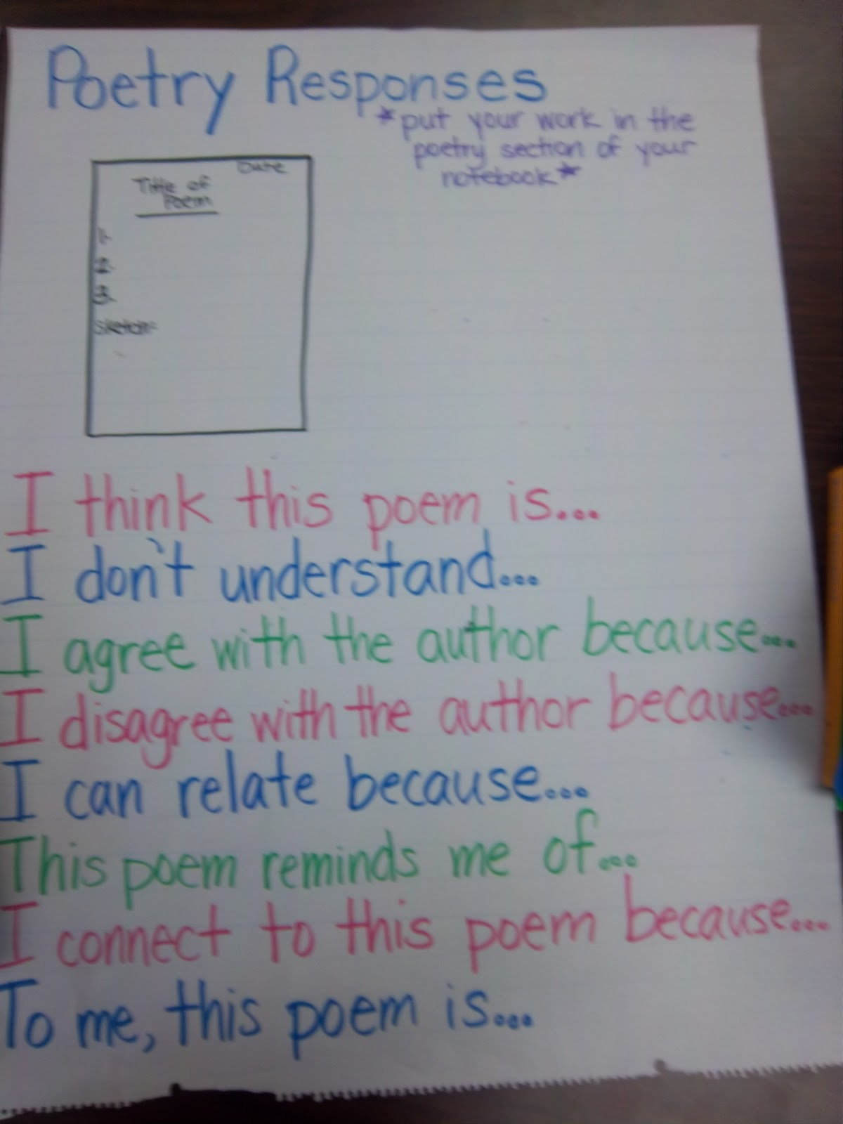 Fifth Grade Poems Poems