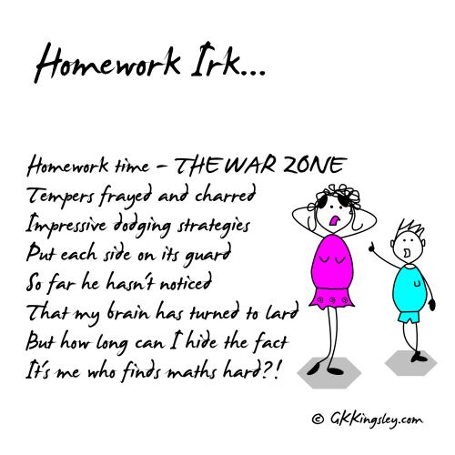 Homework Poems