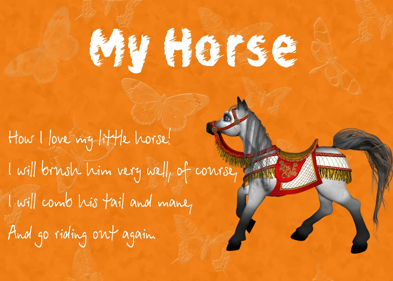 Kids Horse Poems Poems