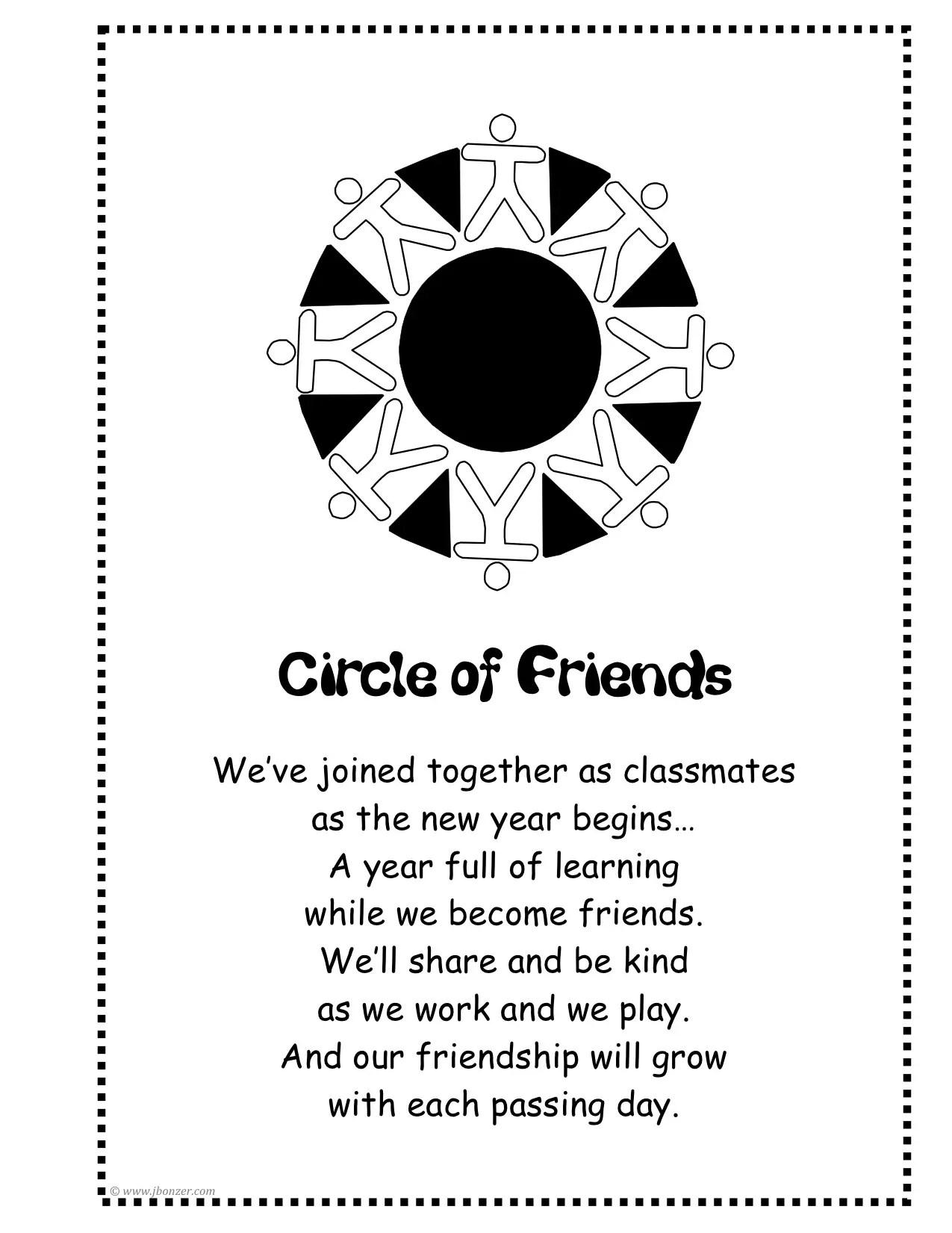 Circle Poems Poems
