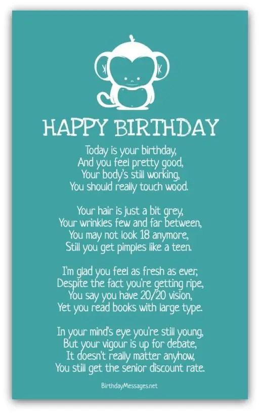 Naughty Birthday Poems