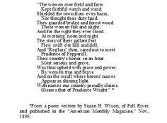 Revolutionary war Poems Poems