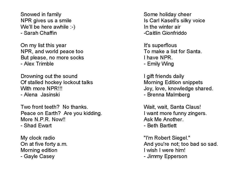 Kids Sports Poems