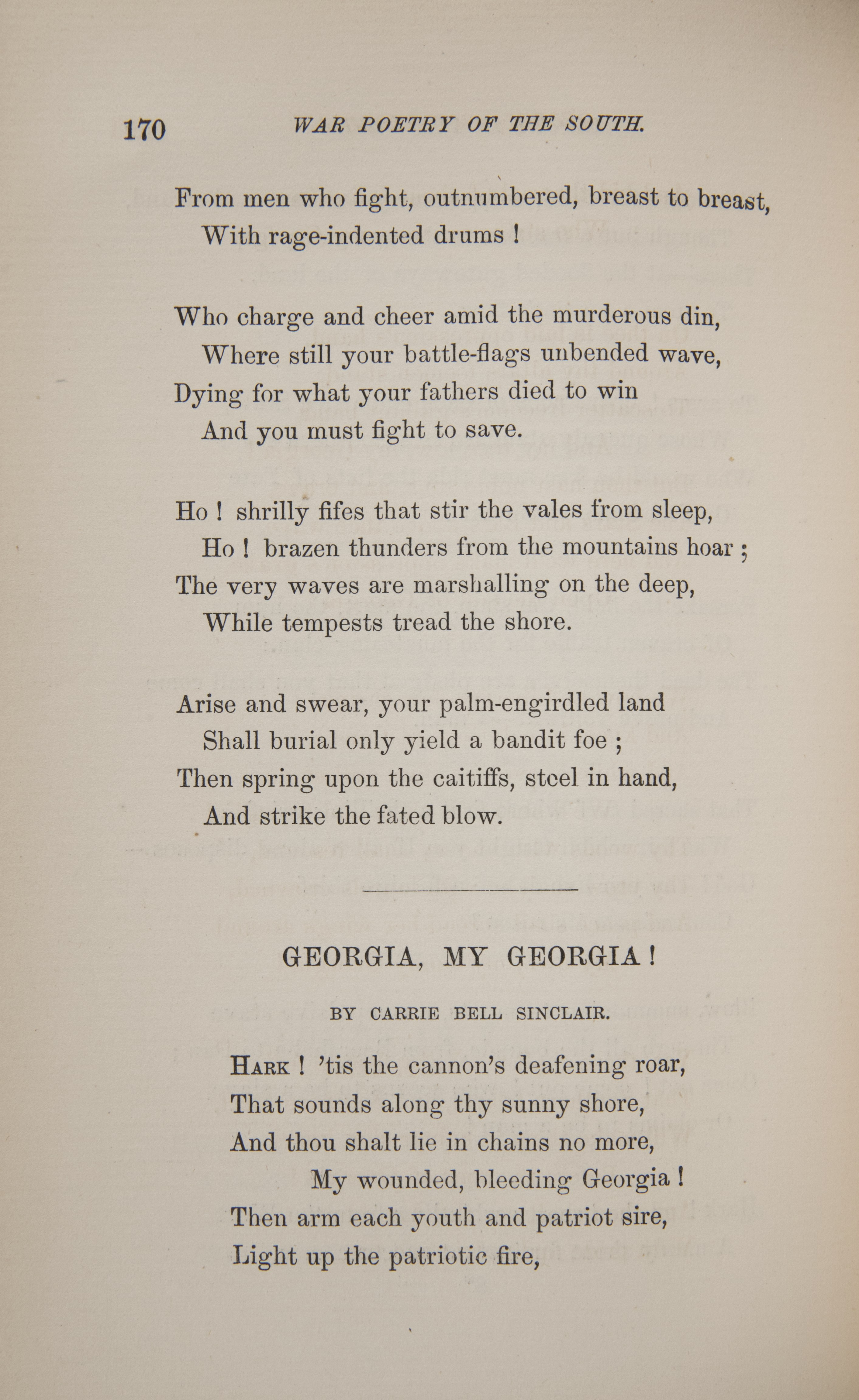 Civil War Poems