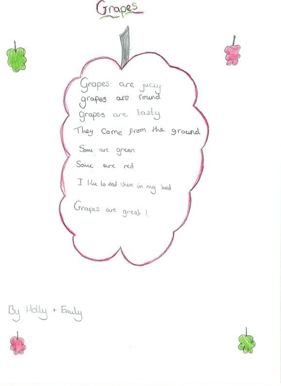 Simple children's Poems