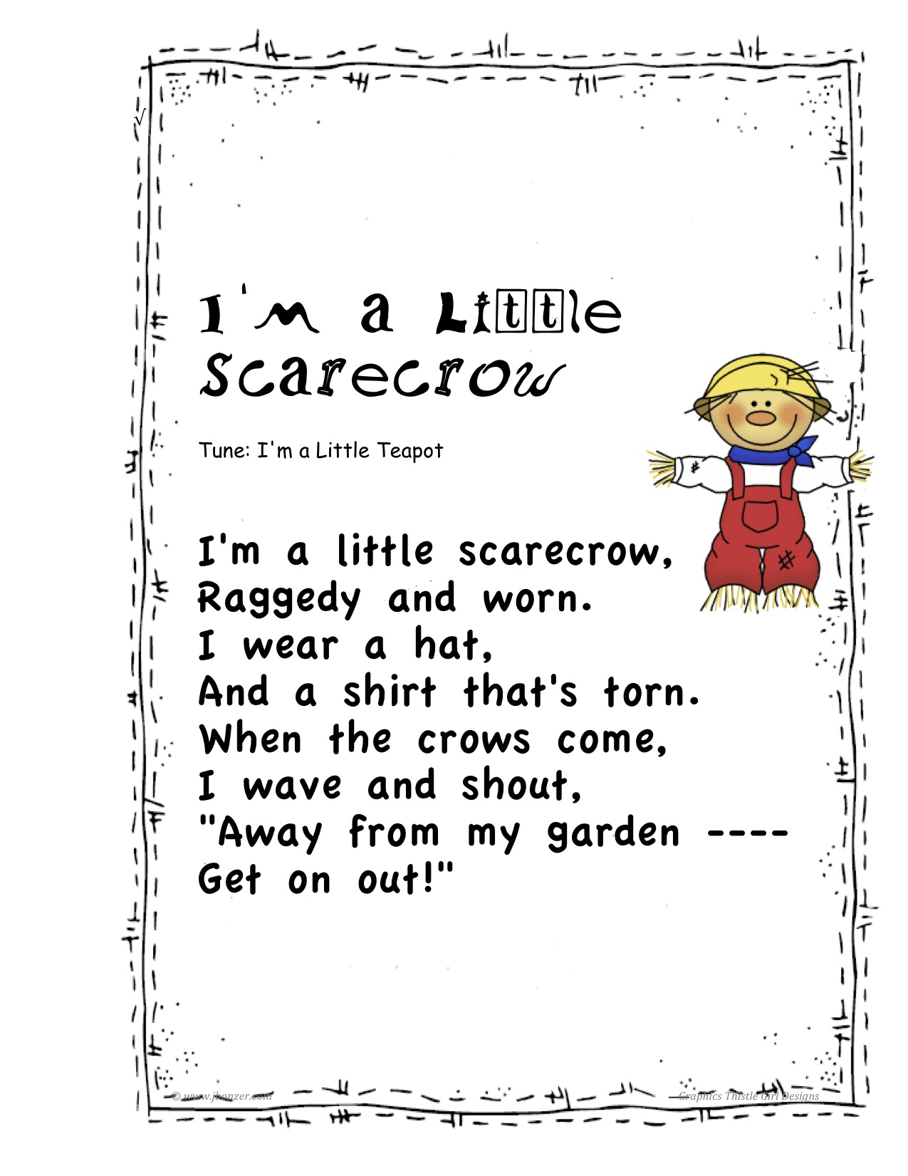 Scarecrow Poems