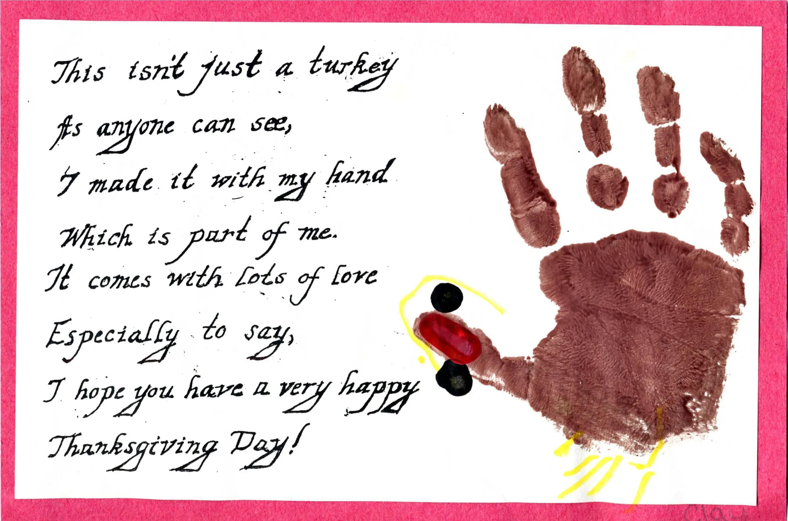 Children S Thanksgiving Poems