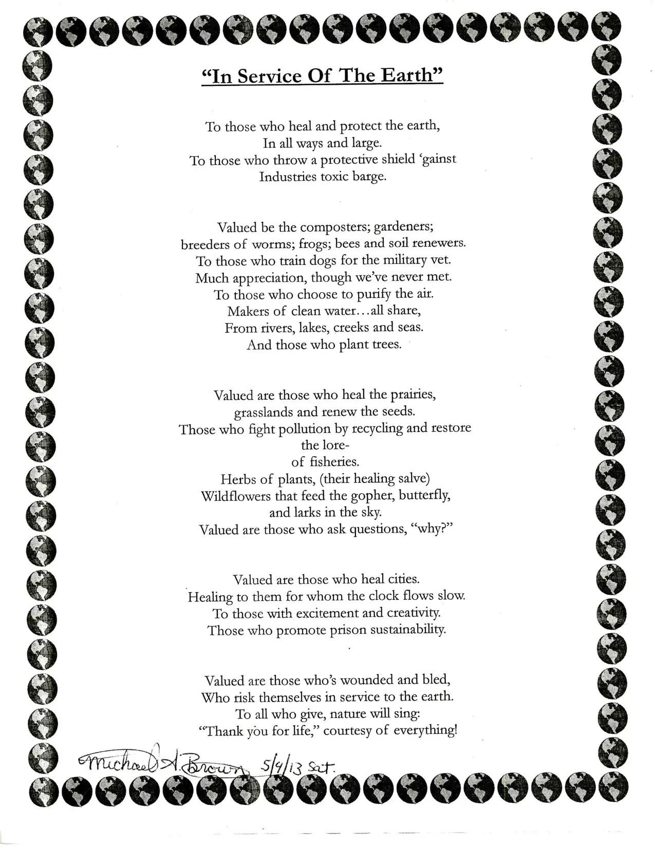 Ecosystem Poems