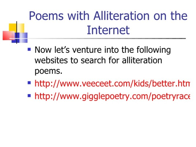 Examples Of Alliteration Poems By Famous Poets Textpoems