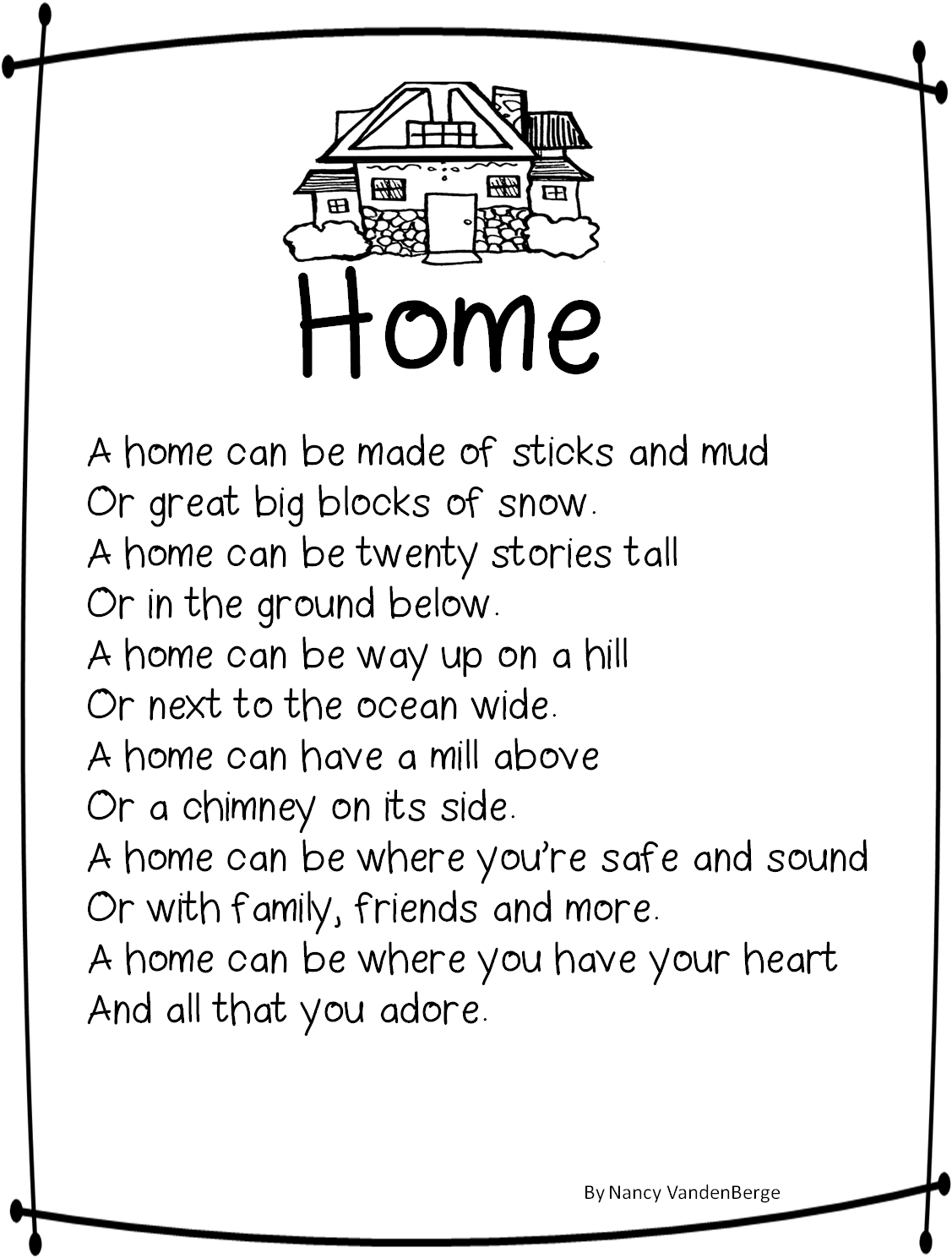House Poems