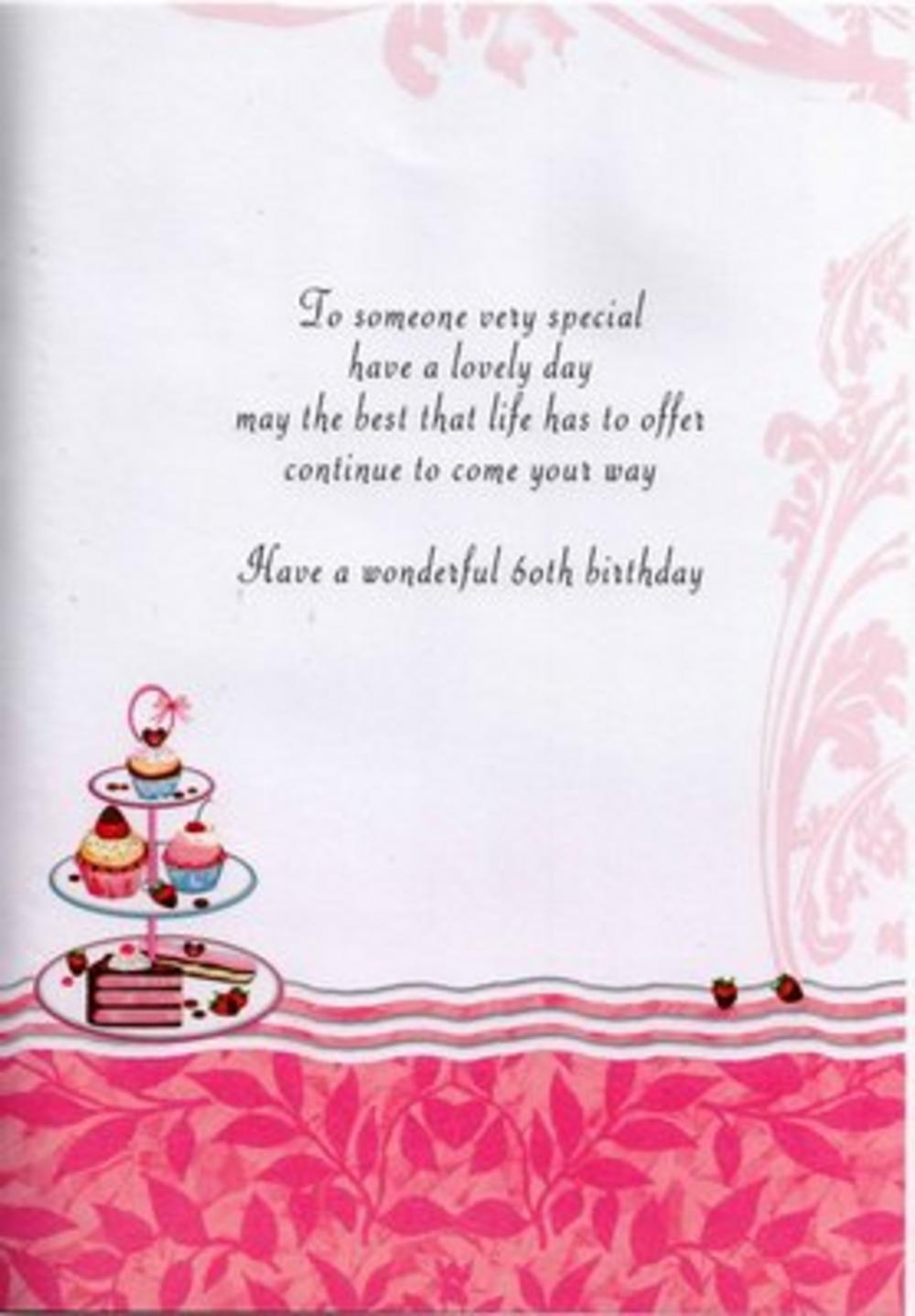 60th Birthday Cards For Women Image Collections Birthday