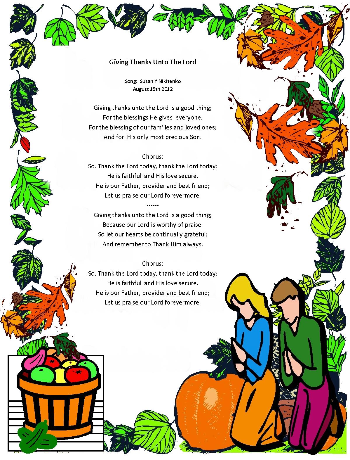 Harvest Poems