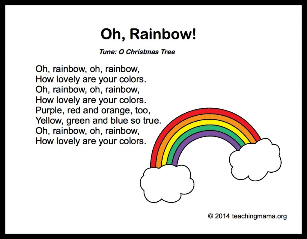 Rainbow Poems