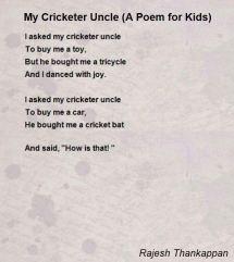 cricket poems