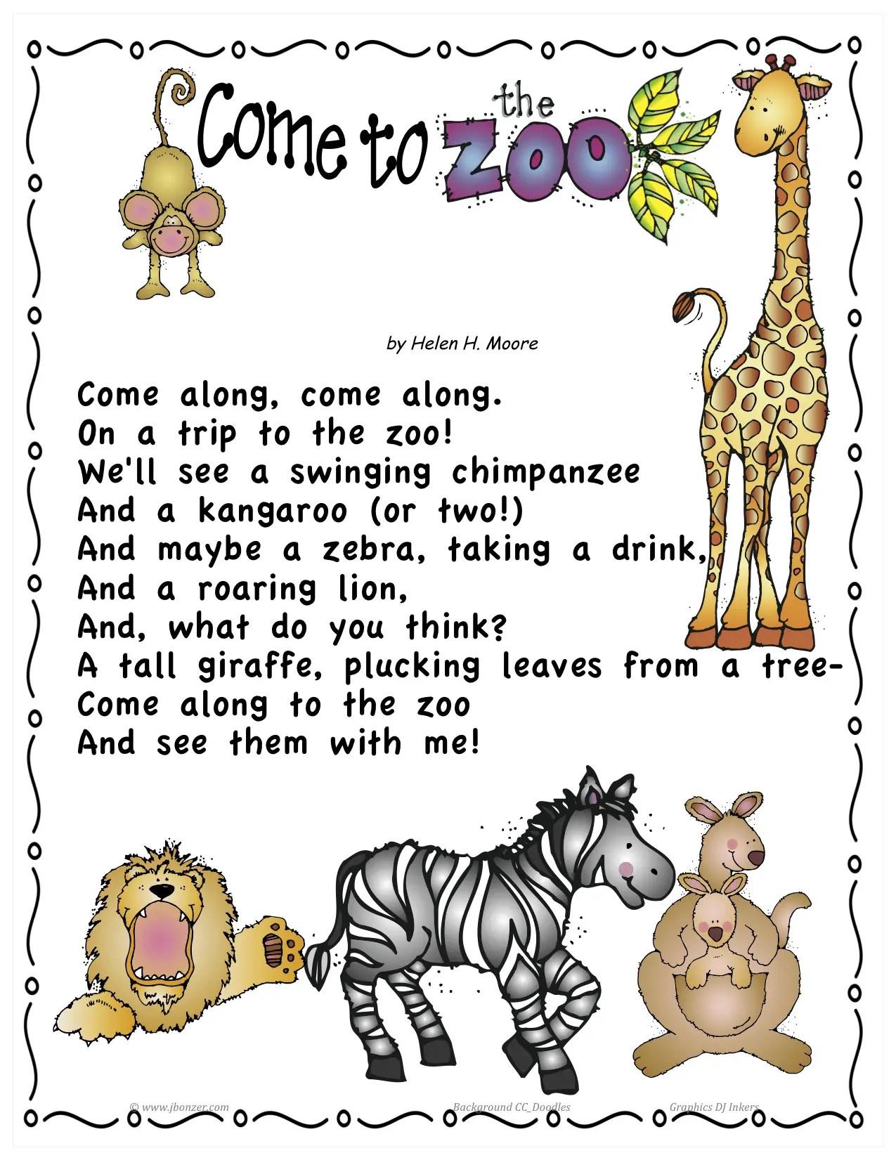 Zoo Poems