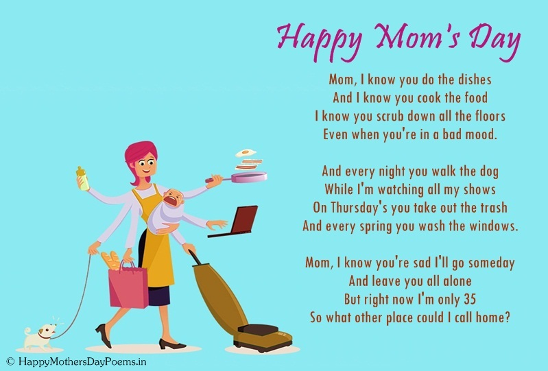 mothers quotes poems about