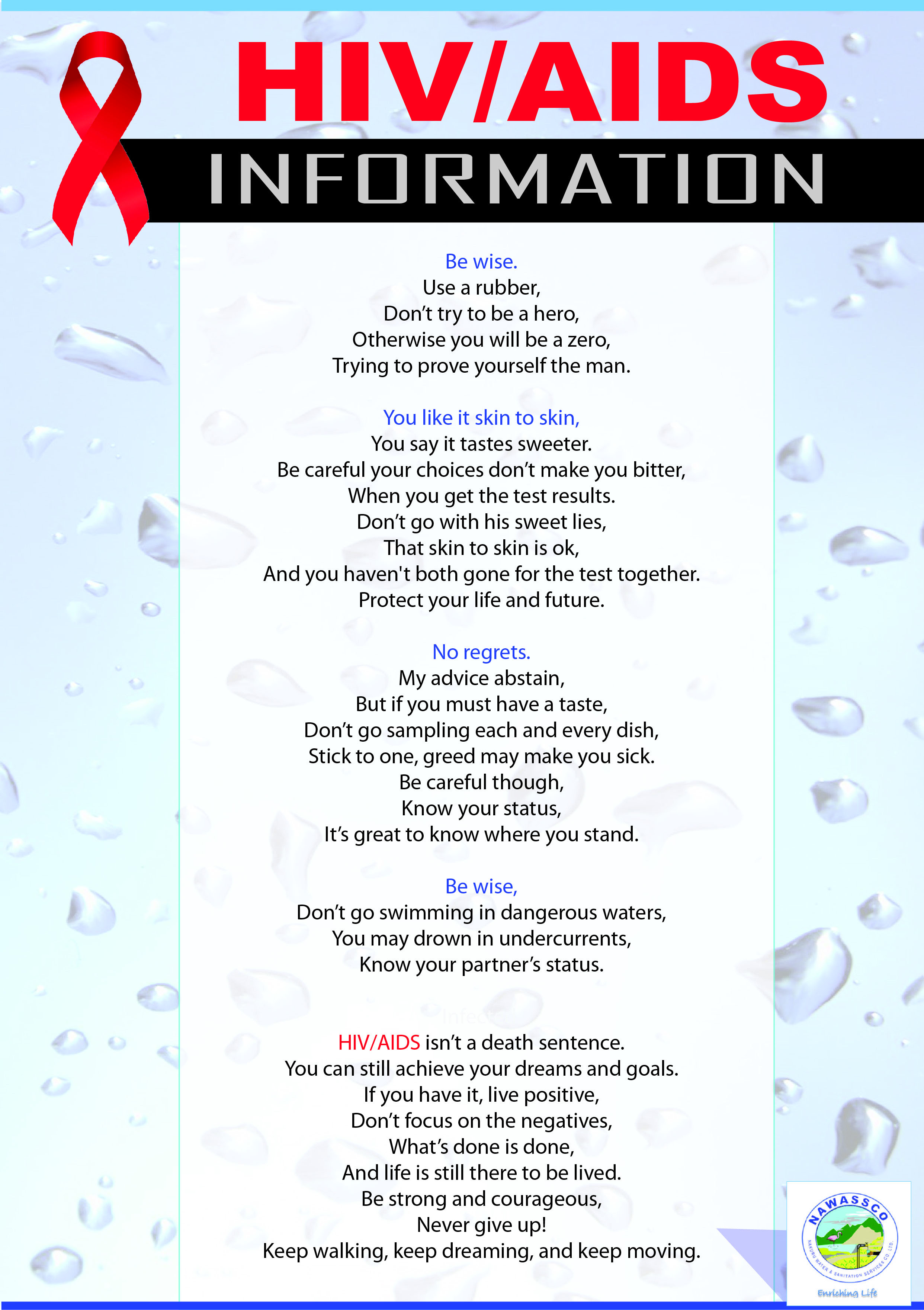 Hiv Poems