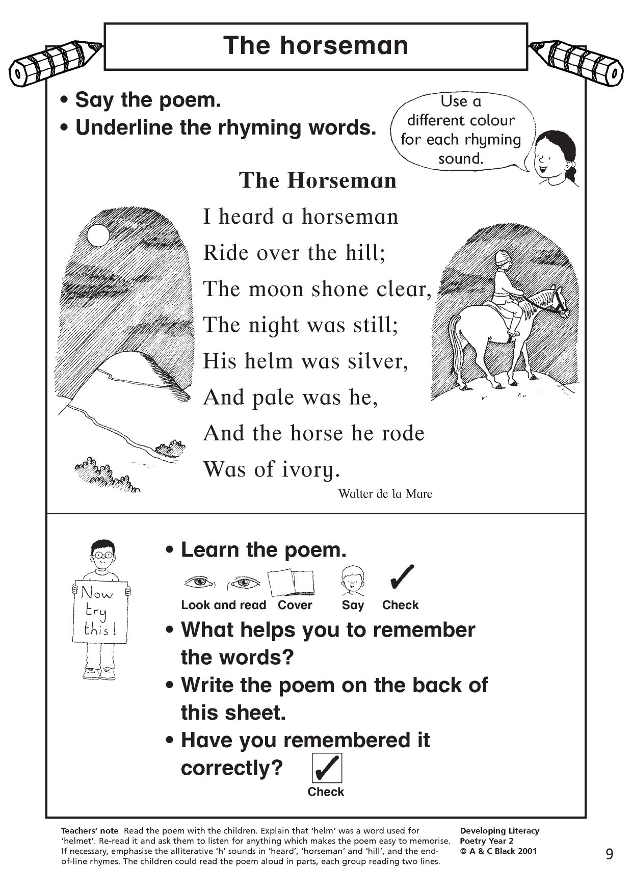 Ks1 Poems
