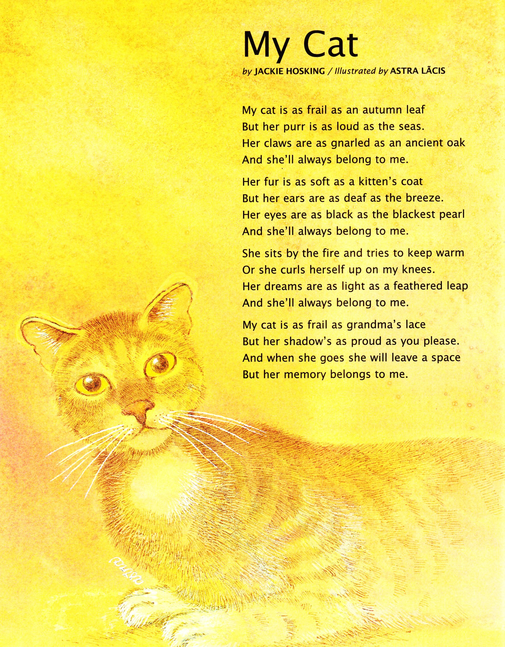 Short Cat Poems