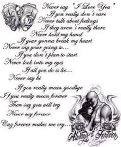 Boyfriend prison Poems