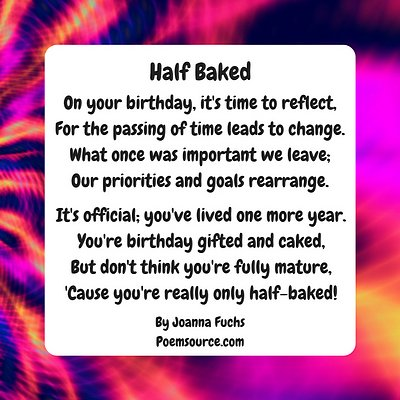 Funny Birthday Poems Give A Giggle!
