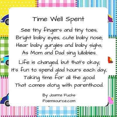 baby poems to celebrate