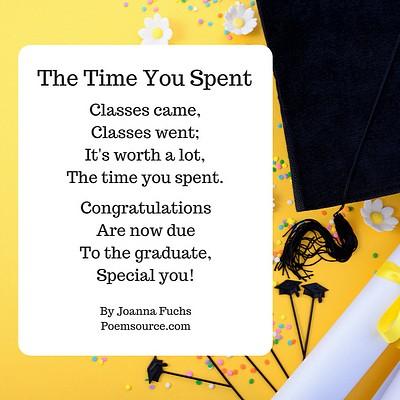 graduation poems they ll