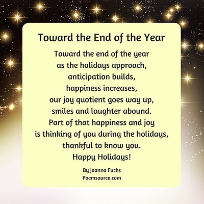 holiday poems wishes sayings