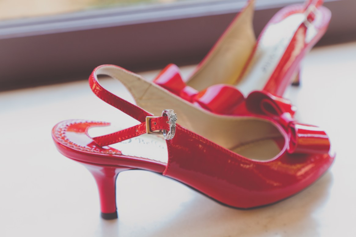 chicago wedding - shoes