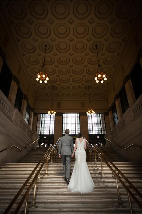 Chicago Union Station Wedding Photography