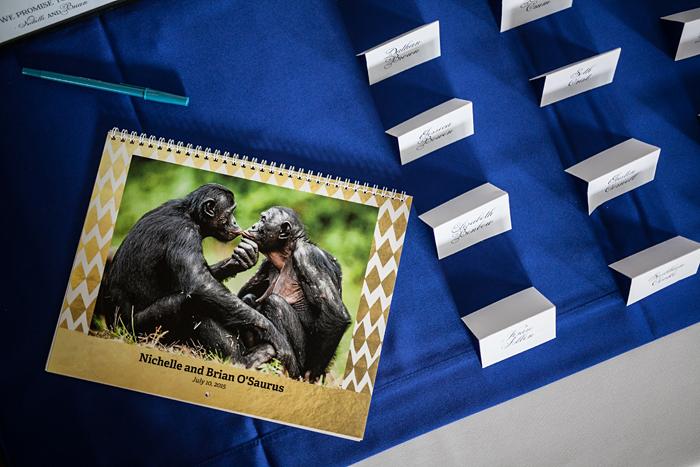 Wedding at Regenstein Center for African Apes