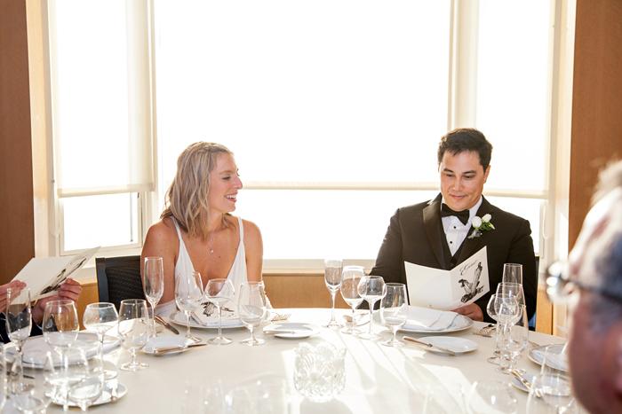 Wedding at Everest Restaurant Chicago