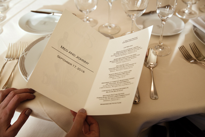 Everest Restaurant Wedding Menu